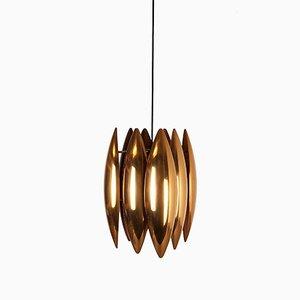 Lampe à Suspension Kastor Mid-Century par Jo Hammerborg pour Fog & Mørup, Danemark
