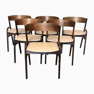 Esszimmerstühle aus Palisander, 1960er, 6er Set