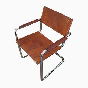 B34 Armlehnstuhl von Marcel Breuer & Mart Stam für Matteo Grassi, 1950er