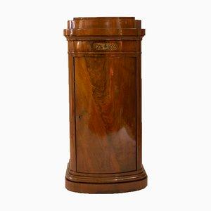 Biedermeier Mahogany Veneer Cabinet, 1820s