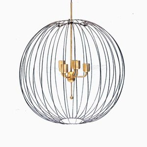 Swedish Model C-496 Pendant Lamp by Hans-Agne Jakobsson for Hans-Agne Jakobsson AB Markaryd, 1960s