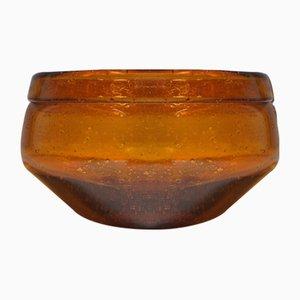 Mid-Century Glass Bowl by Erik Höglund for Kosta, 1950s