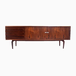 Danish Rosewood Sideboard by H. W. Klein for Bramin, 1960s
