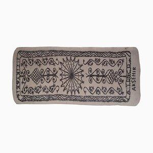 Großer Türkischer Vintage Filz Teppich, 1970er