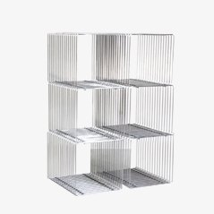 Cubi a rete vintage di Verner Panton per Fritz Hansen, set di 6