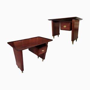 Kleiner italienischer Schreibtisch von Vittorio Dassi für Dassi Mobili Moderni, 1950er