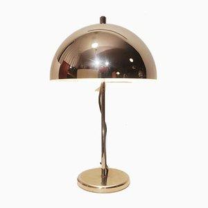 Chrome Mushroom Desk Lamp, 1970s