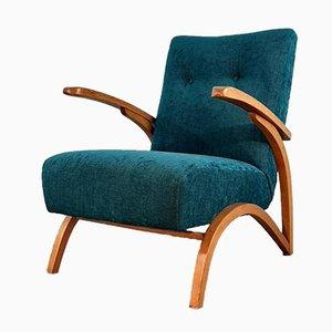 Tschechische Vintage Sessel von Jindřich Halabala für Thonet, 1930er, 2er Set
