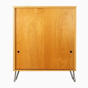 German Ash Veneer Sideboard, 1960s