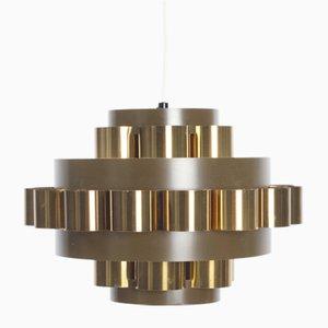 Deckenlampe von Werner Schou für Coronell Elektro A / S, 1970er