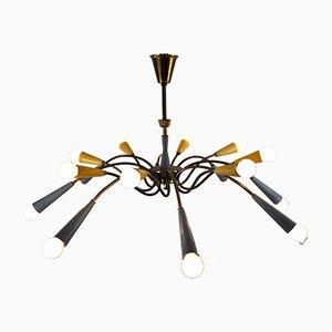Mid-Century Sputnik Ceiling Lamp