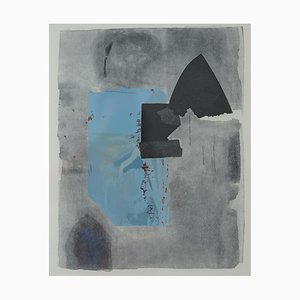 No. 30 Color Etching by Giuseppe Santomaso, 1987