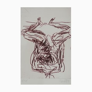 Vintage No. 8 Etching Graphic by Georg Baselitz