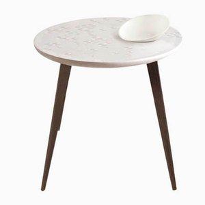 Wenge Frost Moment Tisch mit Schale von Lladró