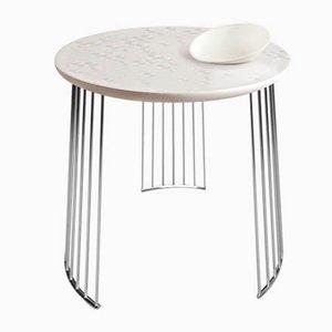 Chrom Metall Frost Moment Tisch mit Schale von Lladró