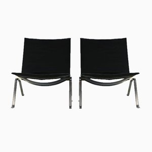 Lounge Chairs by Poul Kjærholm for E. Kold Christensen, 1960s, Set of 2
