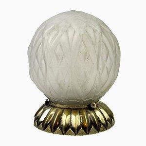Französische Vintage Art Déco Tischlampe