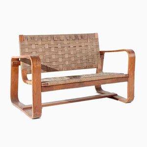 Sofa aus Seilgeflecht & Holz von Giuseppe Pagano & Gino Maggioni, 1941