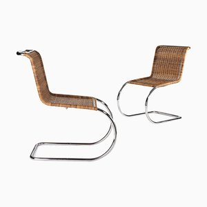 Dining Chairs by Ludwig Mies van der Rohe for Alivar, 1980s, Set of 2