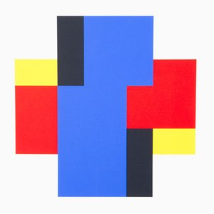 Serigrafie di 17 Patterns per Edition Partanen, anni '80, set di 3