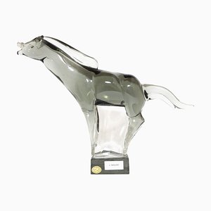 Vintage Horse Sculpture by Livio Seguso for Made Murano Glass