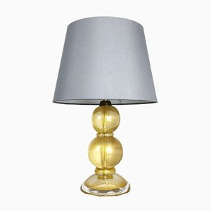 Lámpara de mesa Mid-Century en forma de polvo de cristal de Murano de Cenedese Vetri Murano