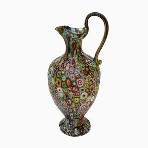 Antique Italian Art Nouveau Blown Glass Vase by Fratelli Toso