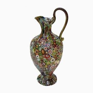 Jarrón italiano modernista antiguo de vidrio soplado de Fratelli Toso