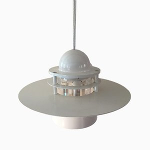 Grandes Lampes à Suspension Orbiter par Jens Møller Jensen pour Louis Poulsen, 1998, Set de 2