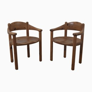 Vintage Dining Chairs by Rainer Daumiller, Set of 2