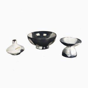 Vintage Ceramic Vases from Otto Keramik, Set of 3