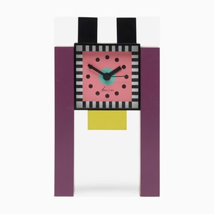Vintage Neos Table Clock by Nathalie du Pasquier and George Sowden