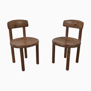 Chaises de Salle à Manger Vintage par Rainer Daumiller, Set de 2