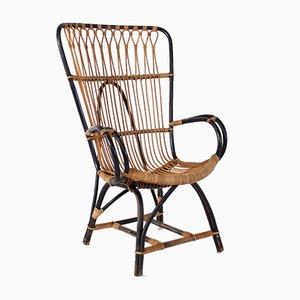 Stuhl aus Bambus, 1960er