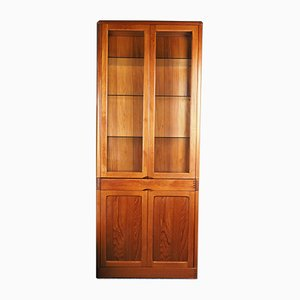Mid-Century Teak Display Cupboard, 1980s