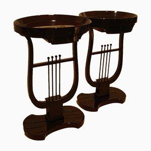 Tavolini, anni '40, set di 2