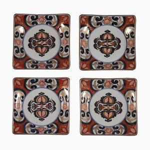 Antike Imari Teller, 4er Set