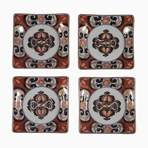 Antique Imari Dishes, Set of 4