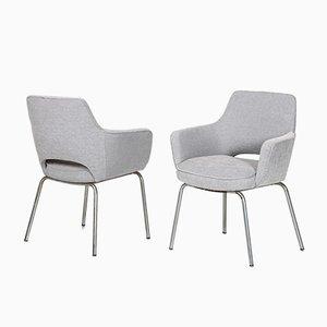 Graue Vintage Sessel von Olli Mannermaa, 2er Set