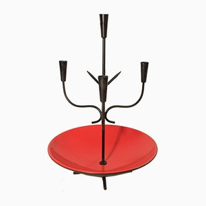 Candleholder by Gunnar Ander for Ystad-Metall, 1960s