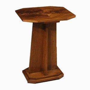 French Art Deco Style Mahogany Table, 1950s