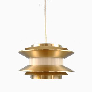 Vintage Pendant Lamp by Carl Thore / Sigurd Lindkvist for Granhaga Metallindustri, 1960s