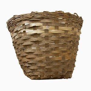 Vintage Wicker Woven Basket