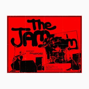 The Jam Poster by Bill Smith, 1979