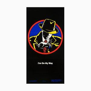 Affiche Dick Tracy par Johnny Kwan, 1990