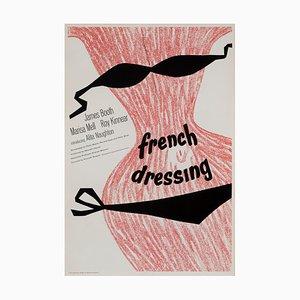 Affiche de French Dressing, France, 1964