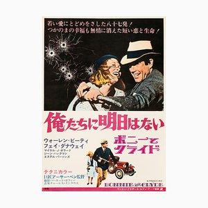 Bonnie & Clyde Plakat, 1968