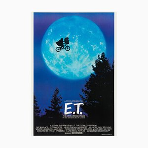 Poster E.T. The Extra Terrestrial, 1982