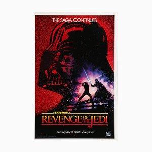 Poster Star Wars: Return of the Jedi di Drew Struzan, 1983