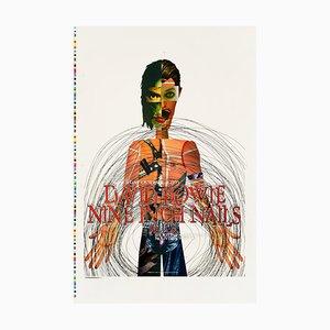 Affiche David Bowie and Nine Inch Nails par Rex Ray, 1995